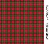 Scottish Red Tartan Background...