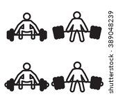 weightlifting deadlift icon in... | Shutterstock .eps vector #389048239
