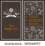 fashion style background    Shutterstock .eps vector #389068957