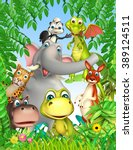 3d rendered illustration of... | Shutterstock . vector #389124511