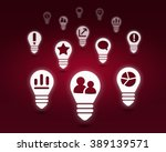 various interface icons | Shutterstock . vector #389139571