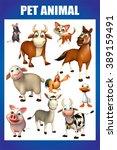 3d rendered illustration of pet ... | Shutterstock . vector #389159491