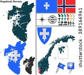 vector map of county rogaland...   Shutterstock .eps vector #389166961