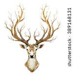 watercolor illustration... | Shutterstock . vector #389168131