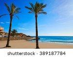 cullera platja del far beach... | Shutterstock . vector #389187784