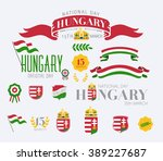 vector typographic signs with... | Shutterstock .eps vector #389227687