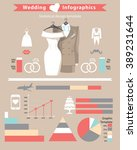 wedding infographics set.cute...