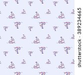 cute seamless pattern with... | Shutterstock .eps vector #389234665