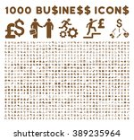 1000 business vector icons.... | Shutterstock .eps vector #389235964