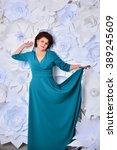 woman studio portrait | Shutterstock . vector #389245609