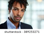 horizontal headshot of an... | Shutterstock . vector #389253271