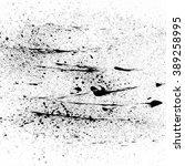 black ink splash texture on... | Shutterstock .eps vector #389258995