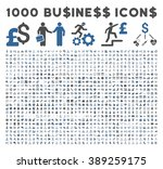 1000 business glyph icons.... | Shutterstock . vector #389259175