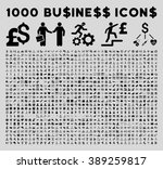1000 business glyph icons.... | Shutterstock . vector #389259817