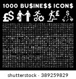 1000 business glyph icons.... | Shutterstock . vector #389259829