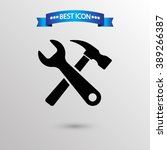 tools  icon vector eps 10 icon  ... | Shutterstock .eps vector #389266387