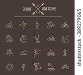 sport icon set. | Shutterstock .eps vector #389279065