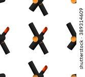 red lipstick seamless pattern.... | Shutterstock .eps vector #389314609