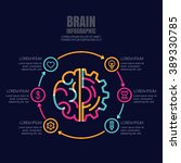 business infographics vector... | Shutterstock .eps vector #389330785