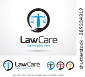 law care logo template design