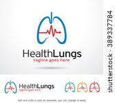 Health Lungs Logo Template...