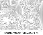 abstract seamless geometrical... | Shutterstock . vector #389350171