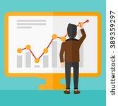 businessman presenting report. | Shutterstock . vector #389359297