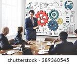 team teamwork group... | Shutterstock . vector #389360545