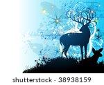christmas card | Shutterstock .eps vector #38938159