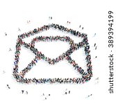 people  letter email icon