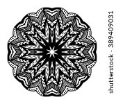 mandala. floral ethnic abstract ...   Shutterstock .eps vector #389409031