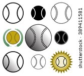 a set of different design... | Shutterstock .eps vector #389411581