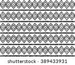 geometric ethnic pattern ... | Shutterstock .eps vector #389433931