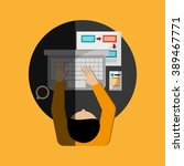 man icon design  | Shutterstock .eps vector #389467771