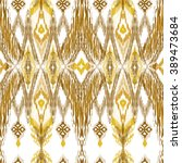traditional oriental decor in... | Shutterstock .eps vector #389473684