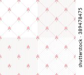 seamless floral patterns with... | Shutterstock .eps vector #389478475