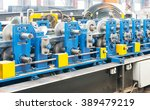 workshop large steel processing ... | Shutterstock . vector #389479219