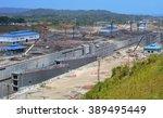 Panama Canal  Panama   Februar...