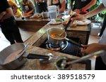 thai cooking | Shutterstock . vector #389518579