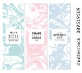 marble banner collection.... | Shutterstock .eps vector #389519509