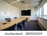 business meeting room or board... | Shutterstock . vector #389520529