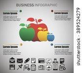business info graphic | Shutterstock .eps vector #389524279