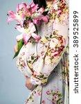 pregnancy   Shutterstock . vector #389525899
