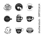 Coffee Related Labels  Badges...