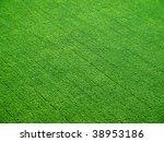 green field pattern. view from... | Shutterstock . vector #38953186