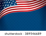 Flag Of The United States Over...