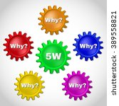 5w  root cause analysis... | Shutterstock .eps vector #389558821