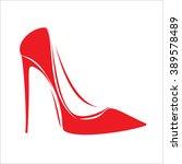 vector illustration.women's red ... | Shutterstock .eps vector #389578489