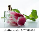perfume and flowers | Shutterstock . vector #389589685