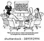 business cartoon about... | Shutterstock . vector #389592994